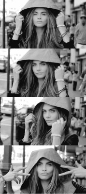 hidden-souls:  This was originally a gif of Cara but I separated the frames and made this, hope you like it xx