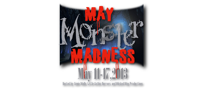 Coffintree Hill will be taking part in the May Monster Madness blogfest. I'll be bringing you seven days of Monstrous Females. The blogfest is hosted by Annie Walls, Little Gothic Horrors, and Something Wicked this Way Comes, and you can sign up for the blogfest, or see the other participating blogs here: anniewalls.com/2013/04/may-monster-madness-sign-up-linky-list