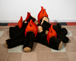 The huggable campfire by Amanda Browder (via Amanda Browder)