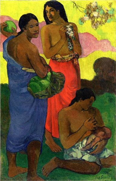 Paul Gauguin, Maternite II, 1899.