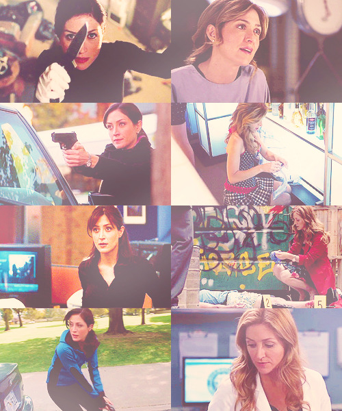 Special Agent Caitlin Todd & Doctor Maura Isles → requested by mygeekcarriesagun