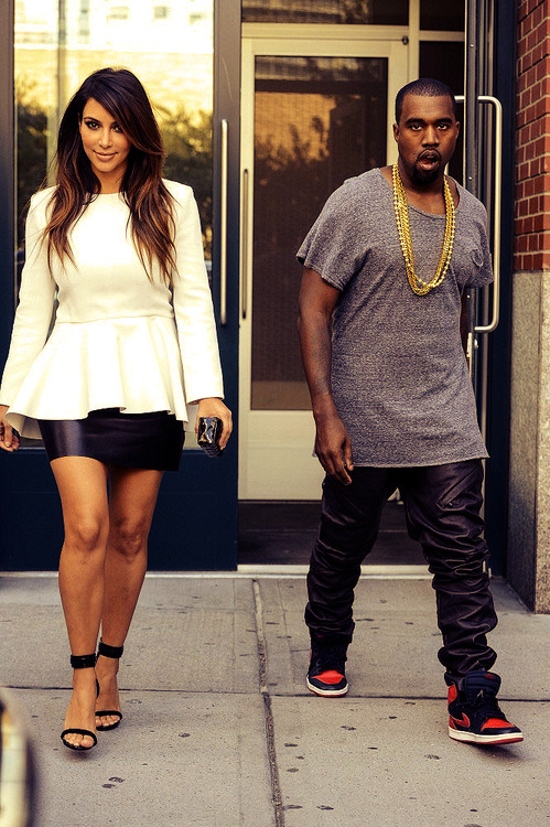 kim is so ready for every single picture and kanye just doesn't care