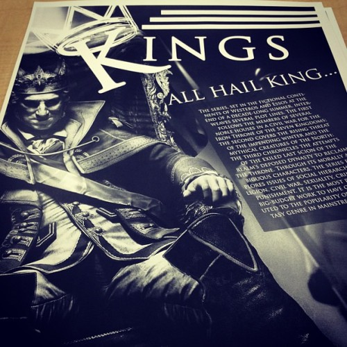 My favorite one!!! #kings #jtcgraphics #graphics #typography
