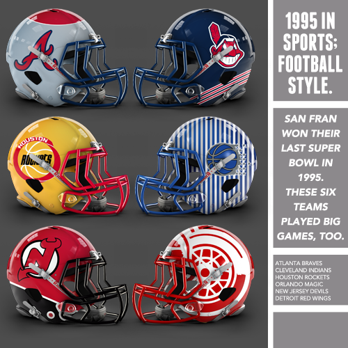 1995 In Sports; Football Style.