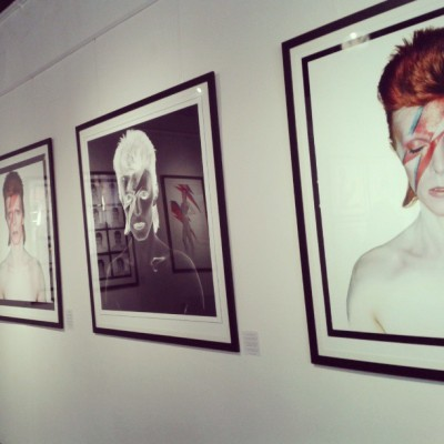 tea-maid:  Duffy exhibition of #Bowie photographs in White Cloth, so good. #photography