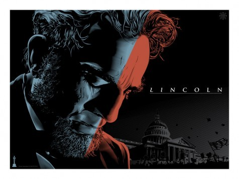 beautyliesinmovieposters:  Lincoln alternative movie poster designed by Jeff Boyes