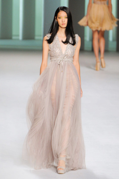 models-on-the-runway:  elie saab s/s 2011