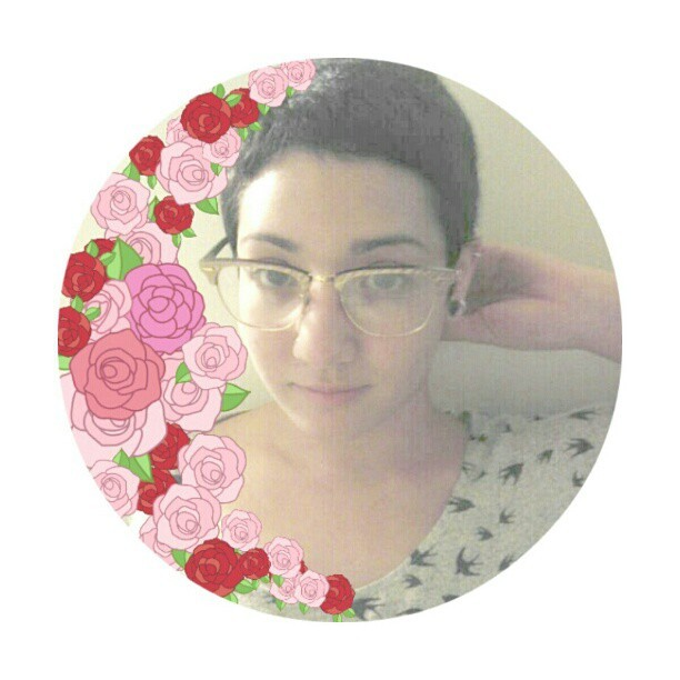 Roses. #floral #me #selfportraits #mugshot #glasses #stamps #linecamera #fashion #sunglasses #raybans #gold #bats #patterns #shorthair #septum #plugs #flowers #pretty #sexy #smile #kawaii #cute #adorable #instahooked #instahub #instamatic #instadaily #bestoftheday #instagood #instaslut #instafamous #instahub #instamatic