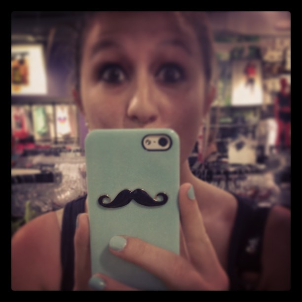 new phone case :) (at Saint Louis Galleria)