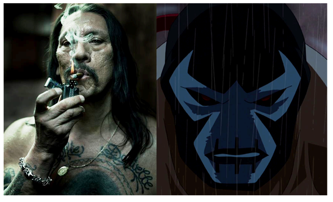 YOUNG JUSTICE BANE voice actor is actually DANNY TREJO