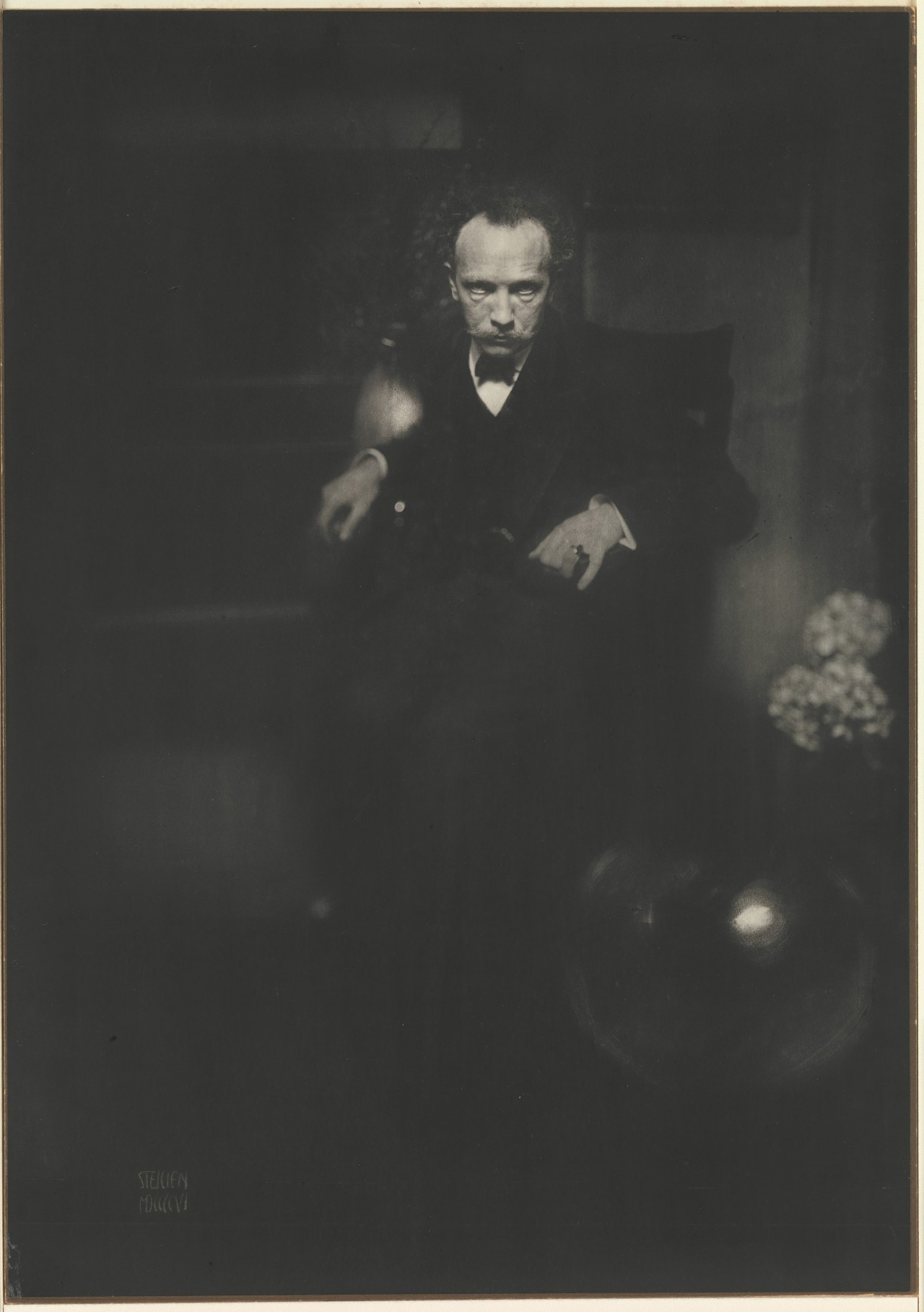 tierradentro:  Richard Strauss, 1904. Photo: Edward J. Steichen.