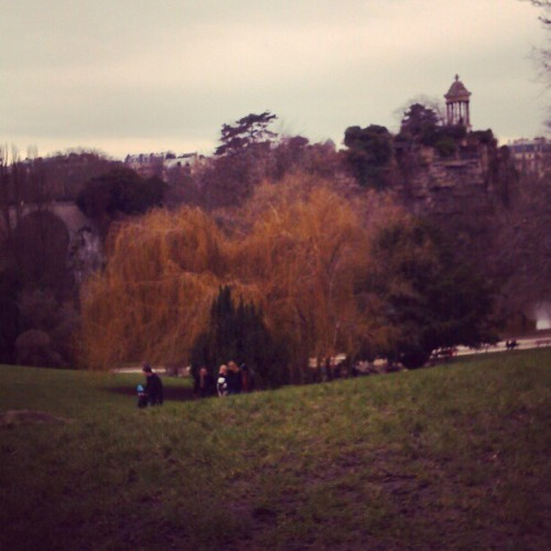 at Parc des Buttes-Chaumont