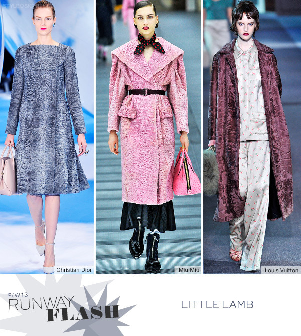Runway Flash – Little Lamb esto si que es un fashion flash preparemonos para el invierno