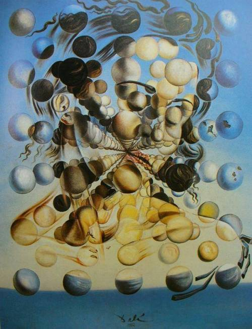 continuities:  Galatea of the Spheres by Salvador Dali
