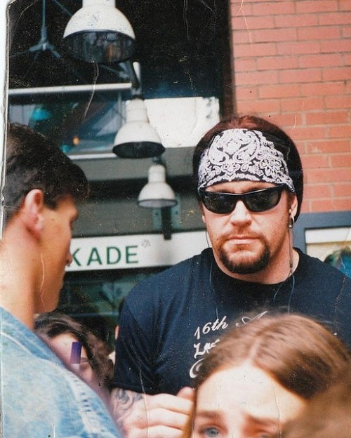 mickeymat1991:  I have so many fucking pictures of the Undertaker. It's ridiculous! Two thousand and something I don't even know. I can't help it, he's so hot and sexy and amazing..