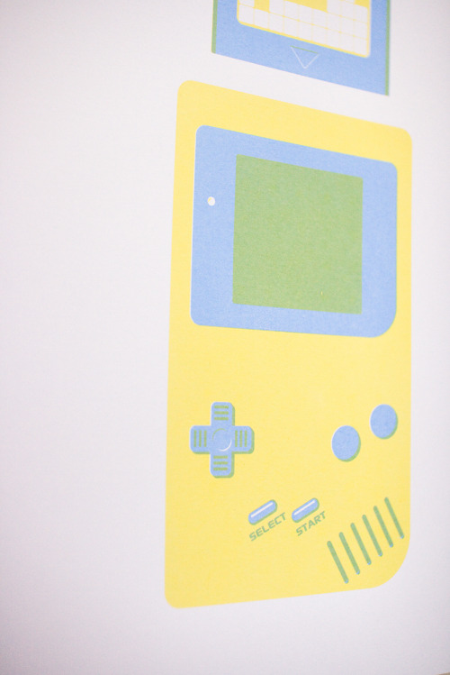 Game Boy A collaboration with Jak Hornblow - Two colour (overlay) hand pulled screenprint (A3). £25. Available to buy via my Etsy here.Don't forget to check out my Tumblr: www.blog.thisisaekido.co.uk ————————get your work featured by submitting it to designersof.com