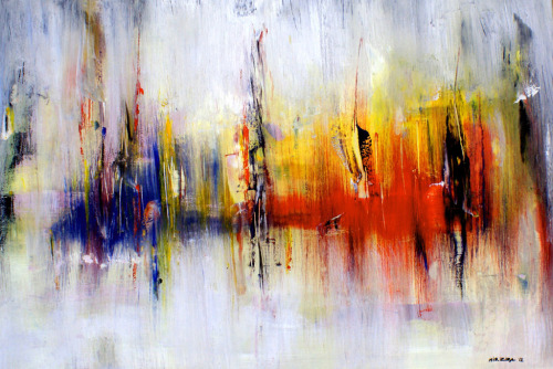mangoachaar:  Abstract-Art-Painting-Mirza-Zuplijanin (by TheMountainHome)
