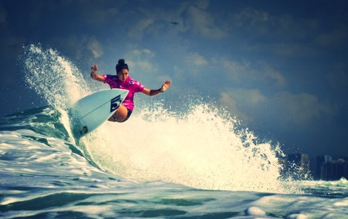 immafishyyy:  Malia Manuel at Billabong RioPro