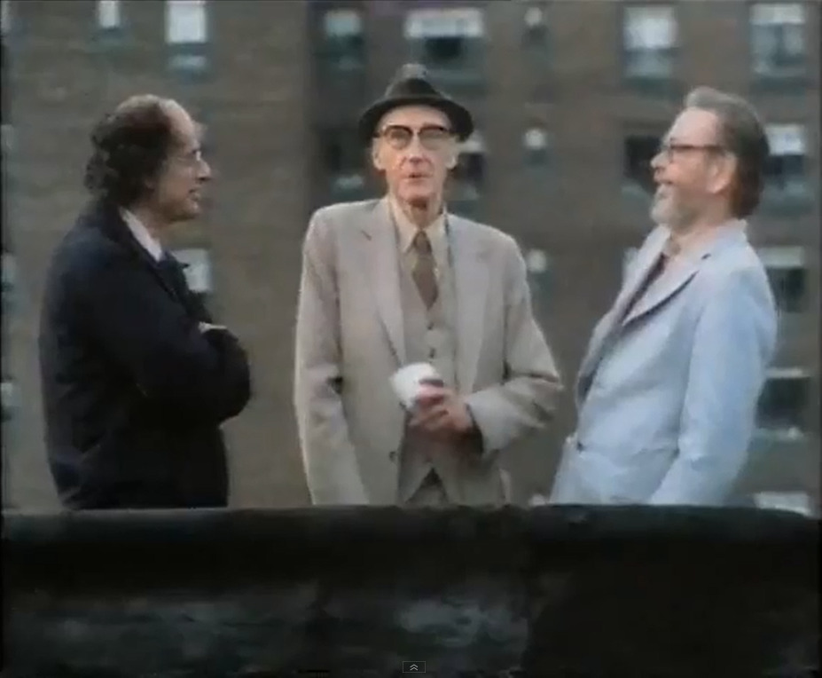 williamblakeandnobody:  Allen Ginsberg, William Burroughs & Lucien Carr  in New York