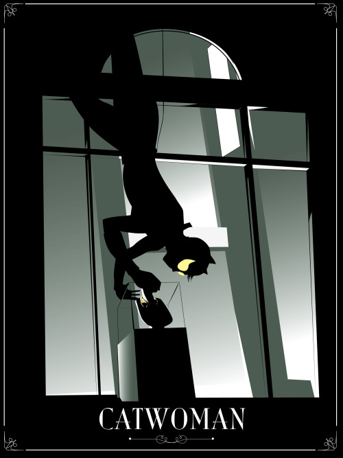 at9design:  Gotham by Night: Catwoman