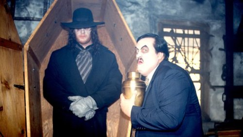 Filthy rich  Custom made Undertaker And Paul Bearer