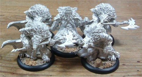 While these Warpborn Skinwalkers have now been released in plastic, I would love to grab a metal unit at some point; I have a fondness for pewter minis from years of playing Warmachine, which was originally all pewter and has only in the last few years switched to plastic for certain units.