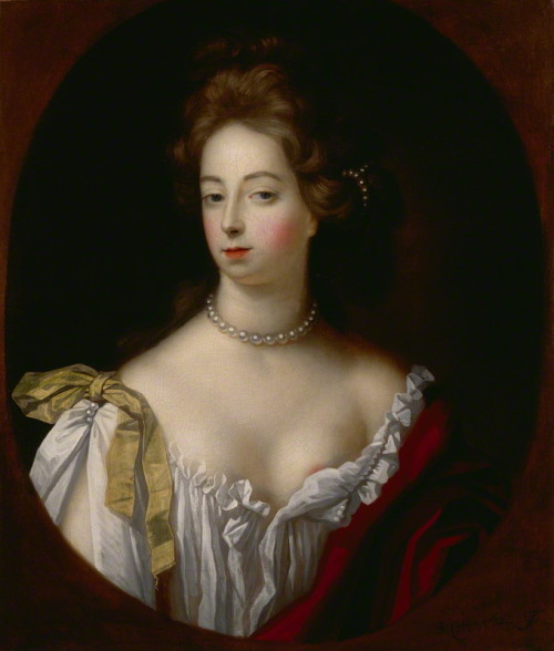 Simon Verelst, Eleanor 'Nell' Gwyn, c.1680 Oh Nell and her cheeky nip-slips …