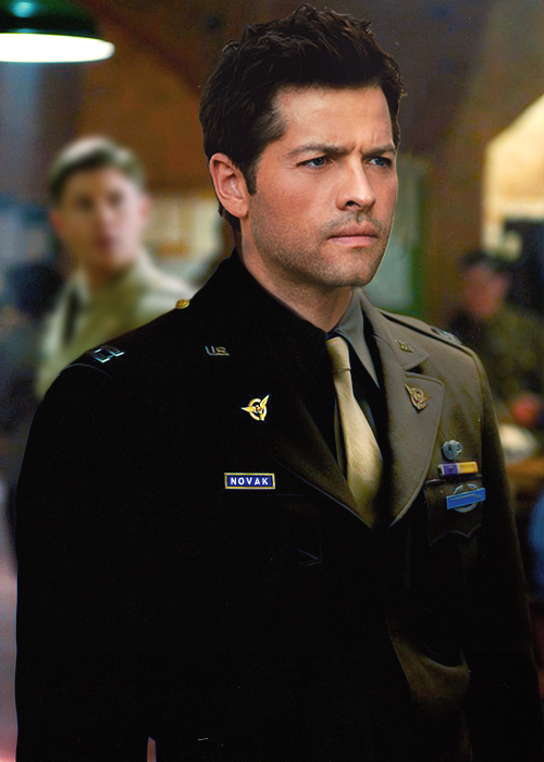 Destiel 40s!AU  Castiel Novak is a highly respected and decorated Captain in the United States Army. Dean Winchester is a lowly Private with a massive crush on his commanding officer. Dean has resigned himself to a life of pining from afar, but when his company is deployed overseas and ambushed, Dean's life changes forever. In the aftermath of the ambush, Dean walks through the rubble and finds only one survivor: Captain Novak—concussed and bleeding, but alive. Dean manages to get them both to a small, nearby village and focuses on nursing Castiel back to health. Once there, Dean is shocked to discover that his feelings aren't nearly as unrequited as he thought.