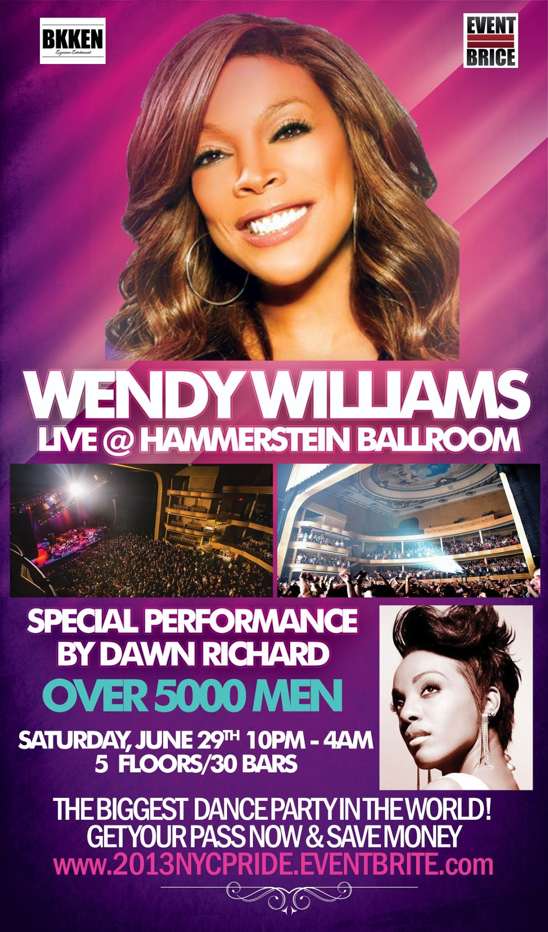 NYC! I'm performing at PRIDE 2013 on June 29th at Hammerstein Ballroom! Come dance!