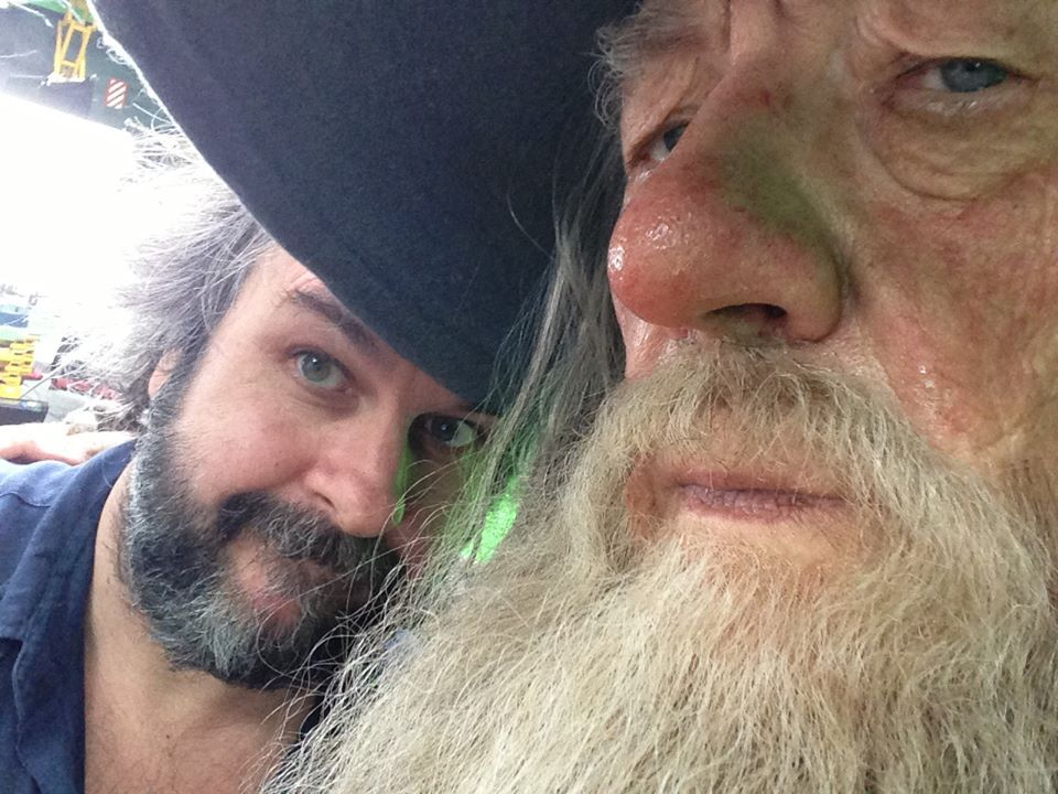"l-o-t-r:     ""Back on set for our last Hobbit pick ups. Our last ever Tolkien pick ups, in fact. It's going to be an intense few weeks, but we're looking forward to shooting some powerful scenes with our great cast. Our next blog is coming soon!""  Peter Jackson [X]"