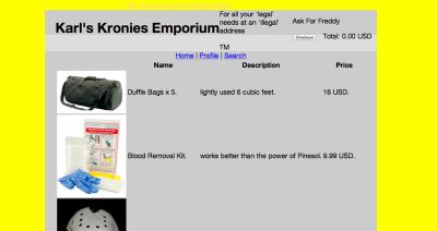 Karl's Kronies Emporium