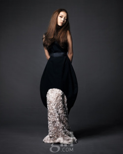 KARA's Goo Hara in Vogue Girl february, 2011