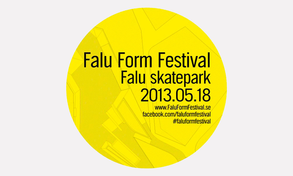 Gouge, Jeks, Ligisd, Siks and Anya Blom at Falun Form Festival. This weekend.