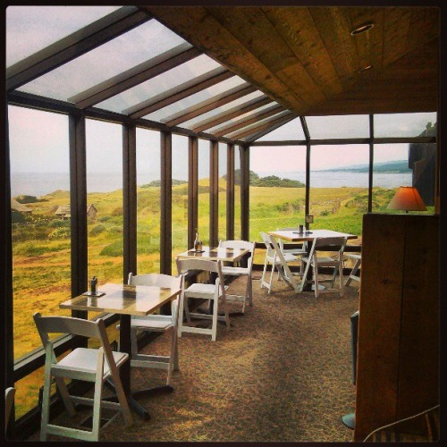 Sea ranch lunch room…I'm being payed to eat here…