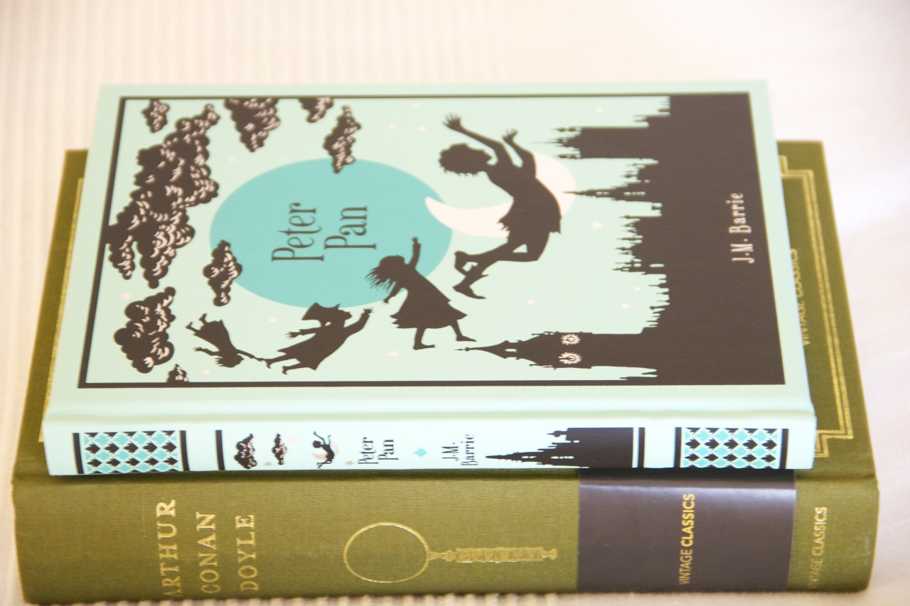 thevisualcircle:  Book haul #9 - March, 2013  1. Peter Pan by JM Barrie 2. The complete Sherlock Homes by Arthur Conan Doyle