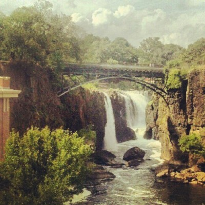 "The Great Falls of the Passaic River - Passaic County, New Jersey  ""Waterfall, don't ever change your ways; fall with me for a million days."""