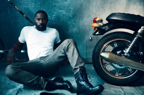 nakedpicturesofyourdad:  Idris Elba by Norman Jean Roy for British GQ, via Homotography
