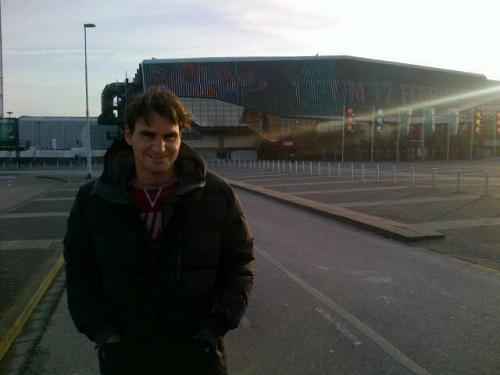 "federernews:  Roger Federer: ""Excited to be back in Rotterdam!""  Roger, you can't be so amazing, so wonderful!!! You just can't!!! And me tooo ♥"