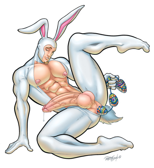 Happy Easter from Patrick and Fraser at Class Comics. Make sure you get a mouthful of something tasty this weekend!