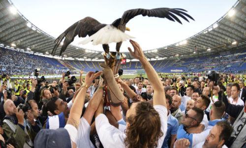 iltifosi:  Incredible images of Lazio's Coppa Italia Triumph