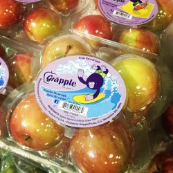 Does the world really need an apple that tastes like a grape? #grapple