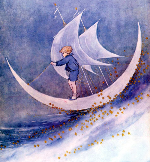 saveflowers1:  Art by Ida Rentoul Outhwaite,