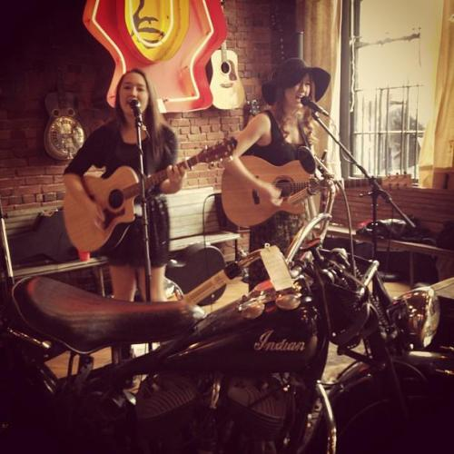 Playing in the Pickin' Corner at Antique Archaeology! http://instagram.com/p/WpmBTFI-aT/