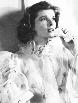 "tracylord:  Katharine Hepburn in ""Bringing Up Baby"" (1938)"