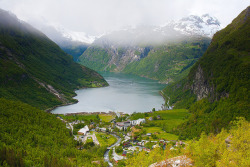 just-wanna-travel:  Geiranger, Norway