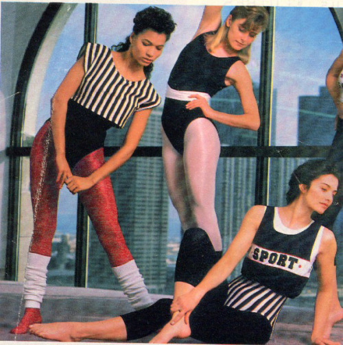 Smooth workout the 80s way