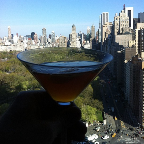 #manhattan x2  (at Mandarin Oriental New York)