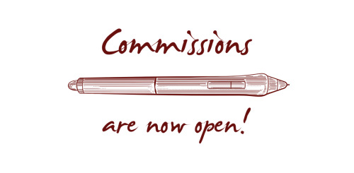 I'm excited to announce that I will be accepting another round of commissions! Click here for more information. Highlighted works: [1] [2] [3] [4] [5] [6]