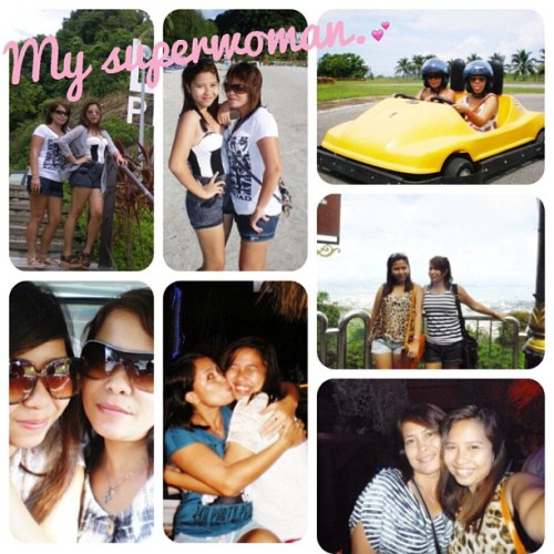 So here's my superwoman…💕 My hero, my mom, my bestfriend and my teacher. Just one thing that I wanna tell you, I wouldn't be here if it wasn't because of you. I know that you had me at such a young age and you've been through so many trials because of us. I know and I feel how much you love me though you're far away from me, I know that everything that you do is all for me, I just want to assure that one day you'll see me wearing my toga in front of many people 'cause I know that it's your only dream. Thank you Mama for everything, I know that God is always here for our family. Thank you for this family, happy mother's day ma! You're my superwoman! MAHAL NA MAHAL KITA MAMA. May Good Lord continue to bless our family.💕👪👩😘🙏  (at saenz residence tugatog malabon)