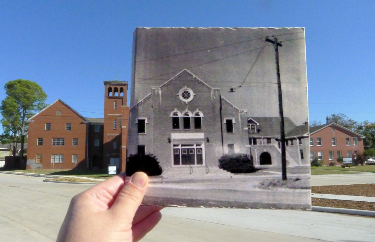 First Baptist Church in 1940 2728 Kentucky. The building was finished in 1940. It is currently Iglesia Bautista Bethel.